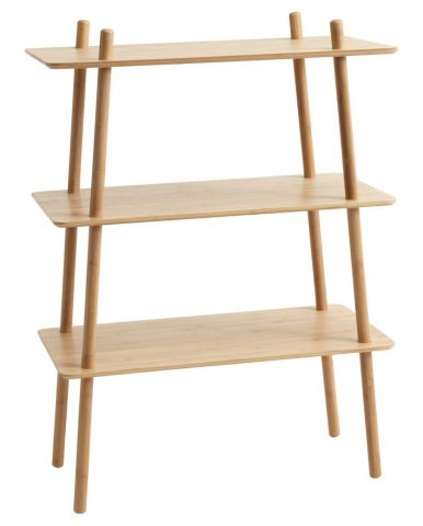 Shelving unit VANDSTED 3 shelves bamboo