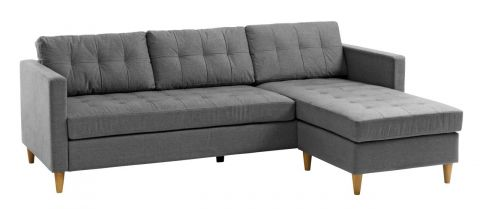 Sofa FALSLEV chaise longue grey