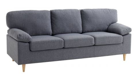 Sofa GEDVED 3 seater grey
