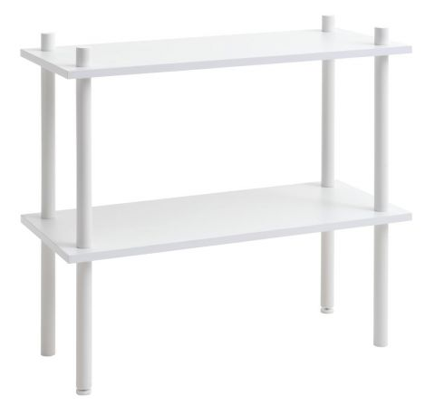 Shelving unit TEGLUM 2 shelves white