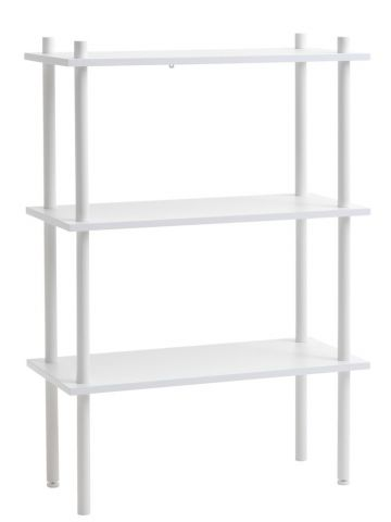 Shelving unit TEGLUM 3 shelves white