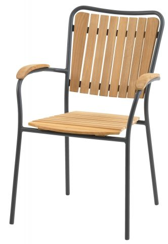 Stacking chair ESKILDSTRUP teak