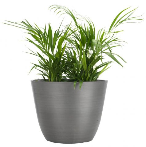 ..Flower pot HVEPS D53xH40 grey