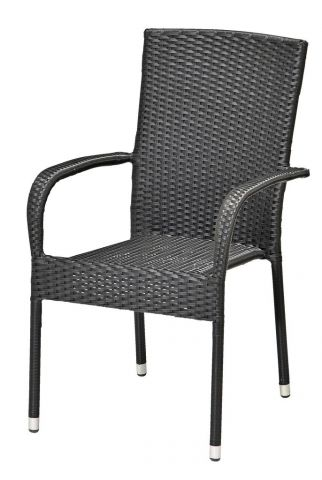 Stacking chair GUDHJEM black