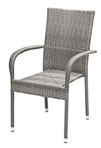 Stacking chair GUDHJEM grey