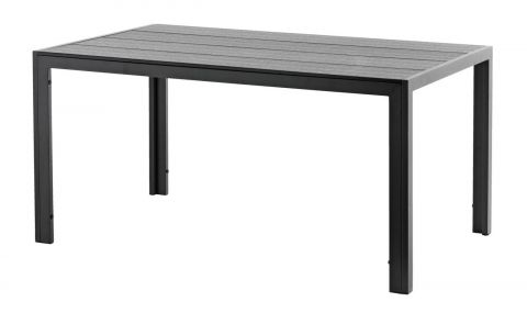 x Table MADERUP W90xL150 black