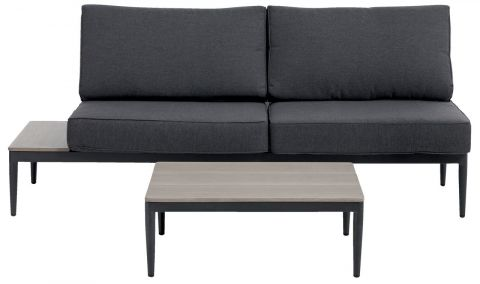 ..Lounge set LEVANGER 2 pers. grey/grey