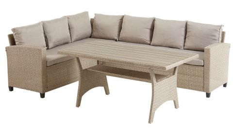 Lounge set ULLEHUSE 6 pers nature