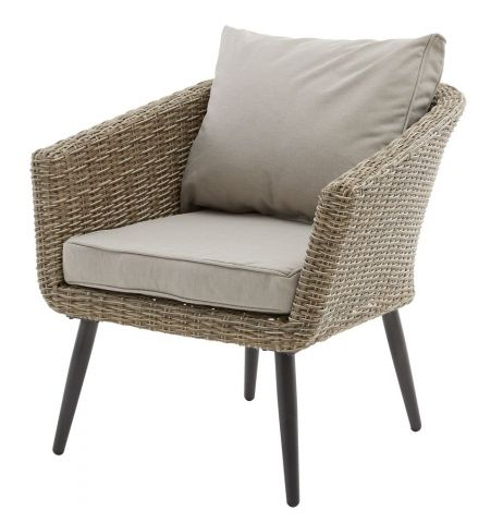 Lounge chair VEBBESTRUP nature