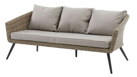 Lounge sofa VEBBESTRUP 3 pers. nature