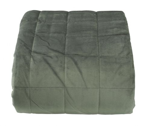 ..Bed throw BANKSIA 220x240 dusty green