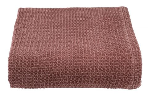 Bed throw OXEL 220x240 burgundy