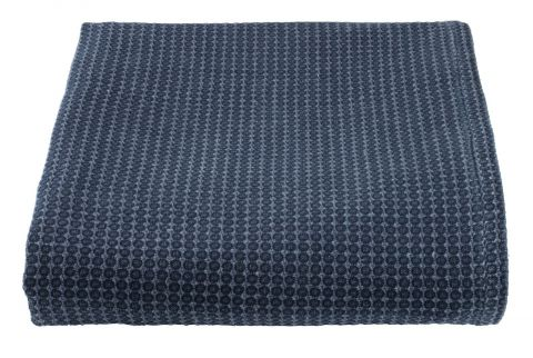 ..Bed throw OXEL 220x240 dark blue