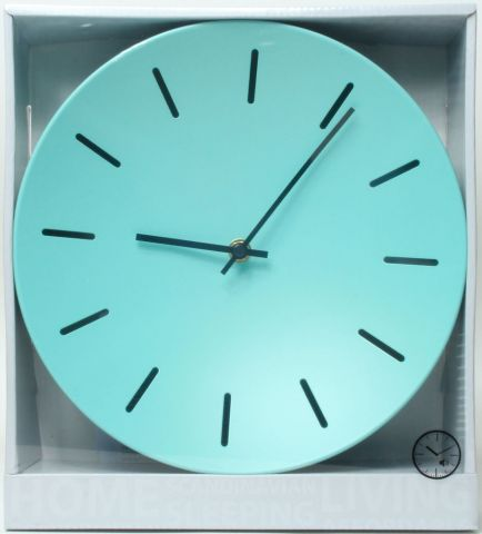 ..Wall clock KJETIL D:25cm ass.