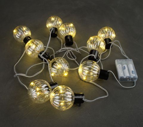 String light THOMAS L320cm w/10 LED's