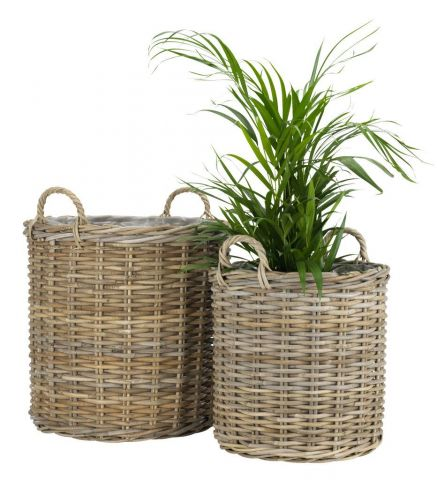 Flower pot SANSEBIE 2pcs/pk. kubu