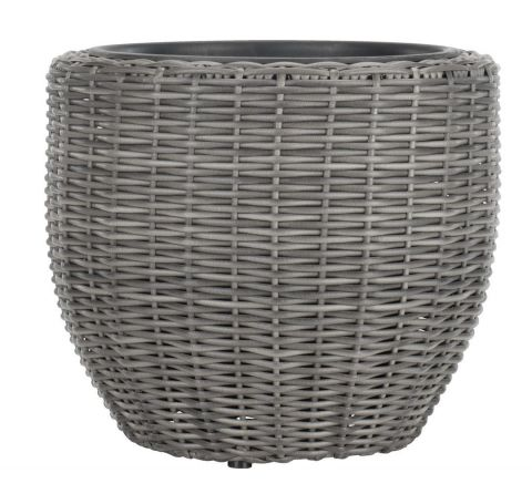 Flower pot SVARTBAK D:42xH36 grey