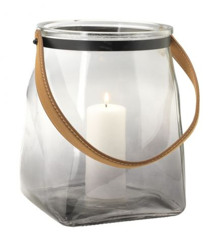 ..Lantern TYVJO D:19xH23 smoked/clear