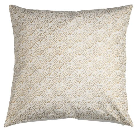 Cushion cover DUEHODE 50x50 creamgold