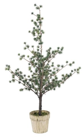 ..Christmas tree PYSSEL H115cm w/pot